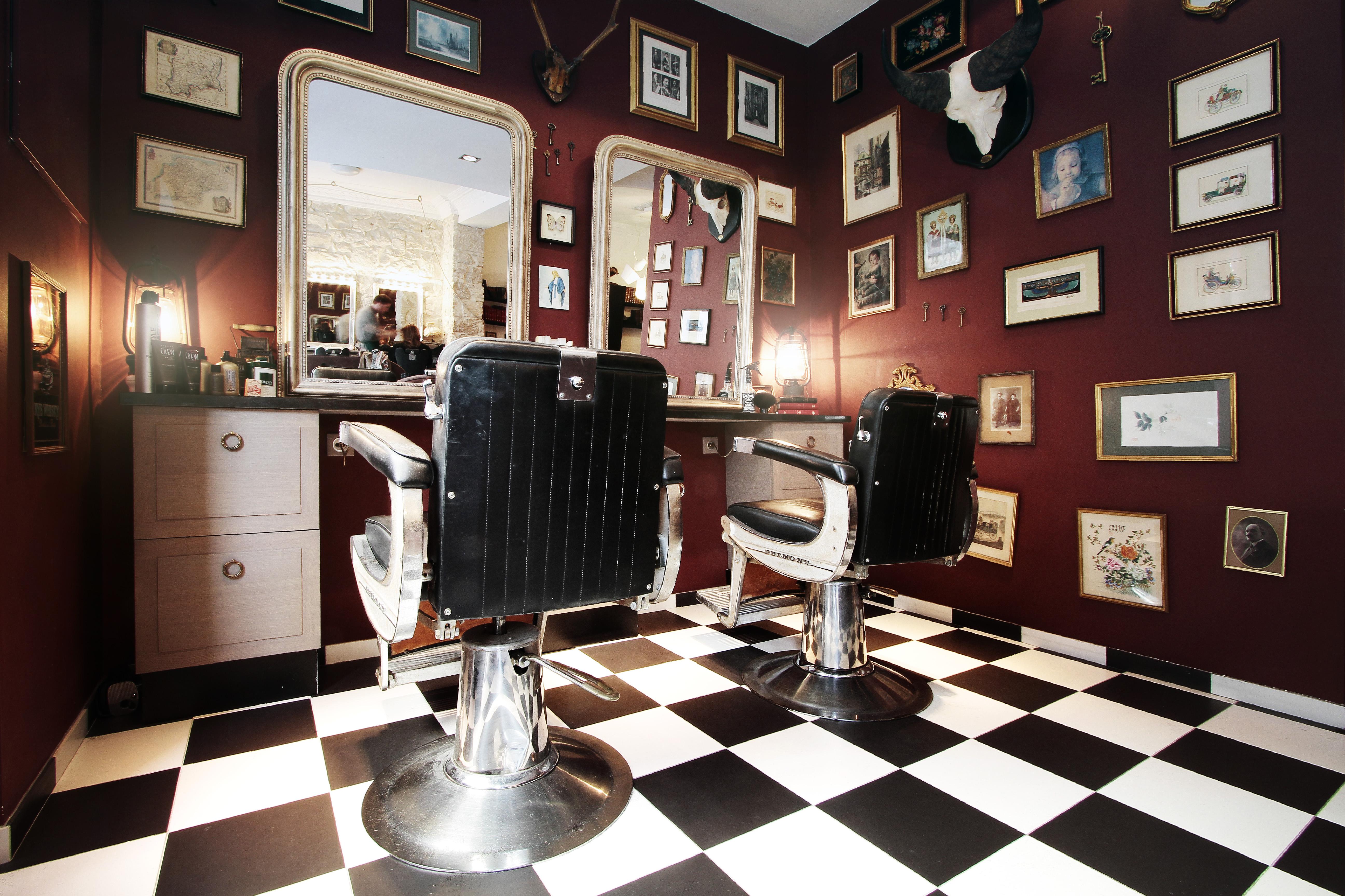 barber shop nice. Black Bedroom Furniture Sets. Home Design Ideas