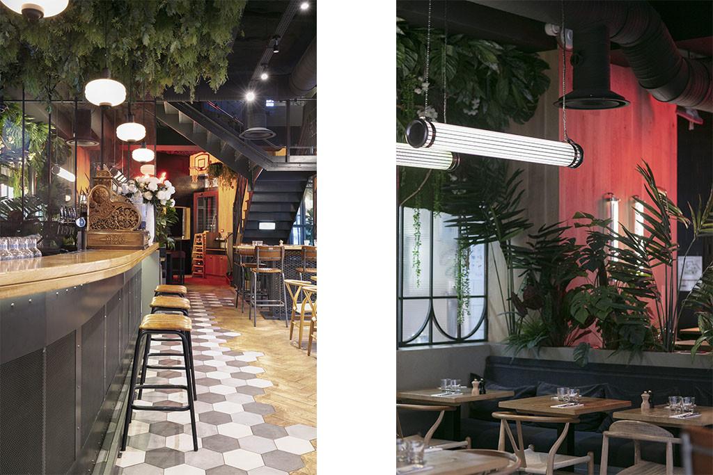 1 Baldini - Le Choupinet Paris Architecture interieur