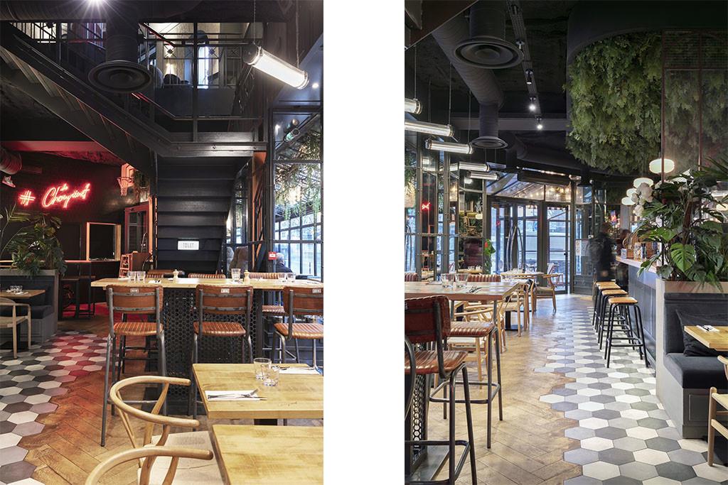 3 Baldini - Le Choupinet Paris Architecture interieur
