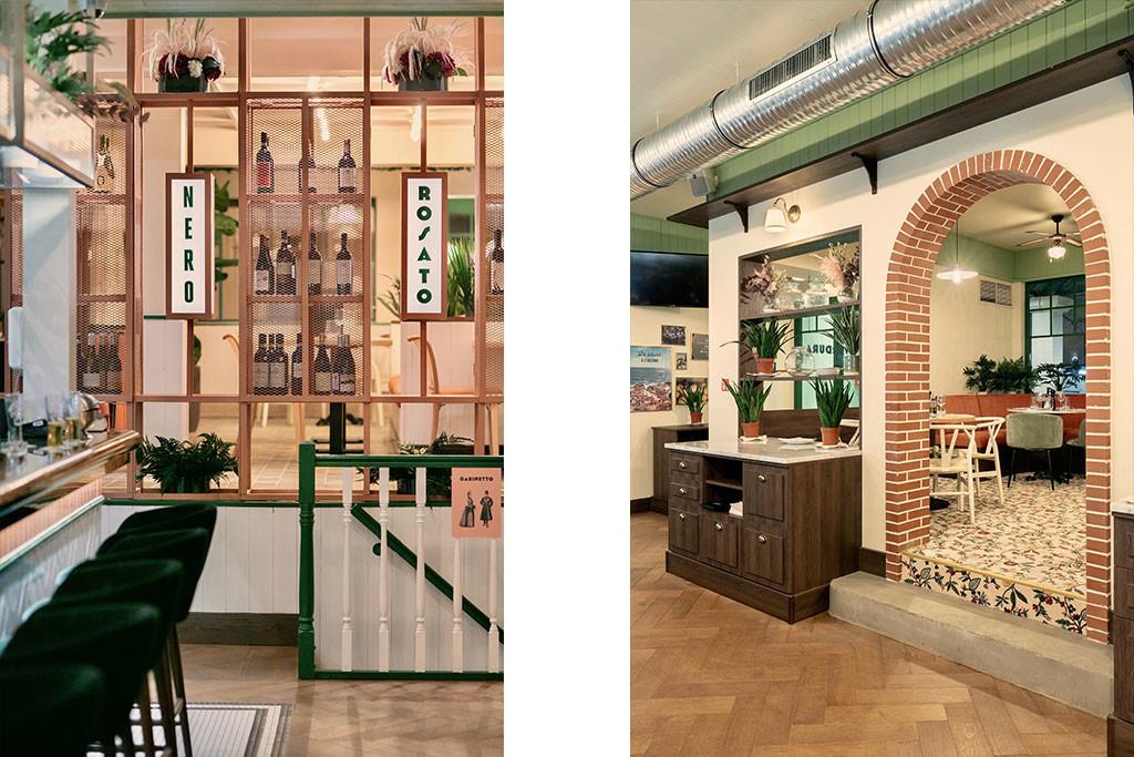 6 Baldini - Il Mercato Paris Architecture interieur