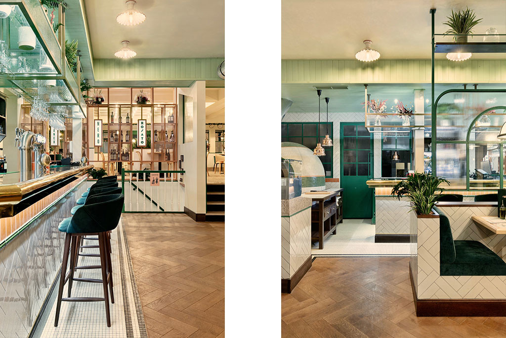 7 Baldini - Il Mercato Paris Architecture interieur