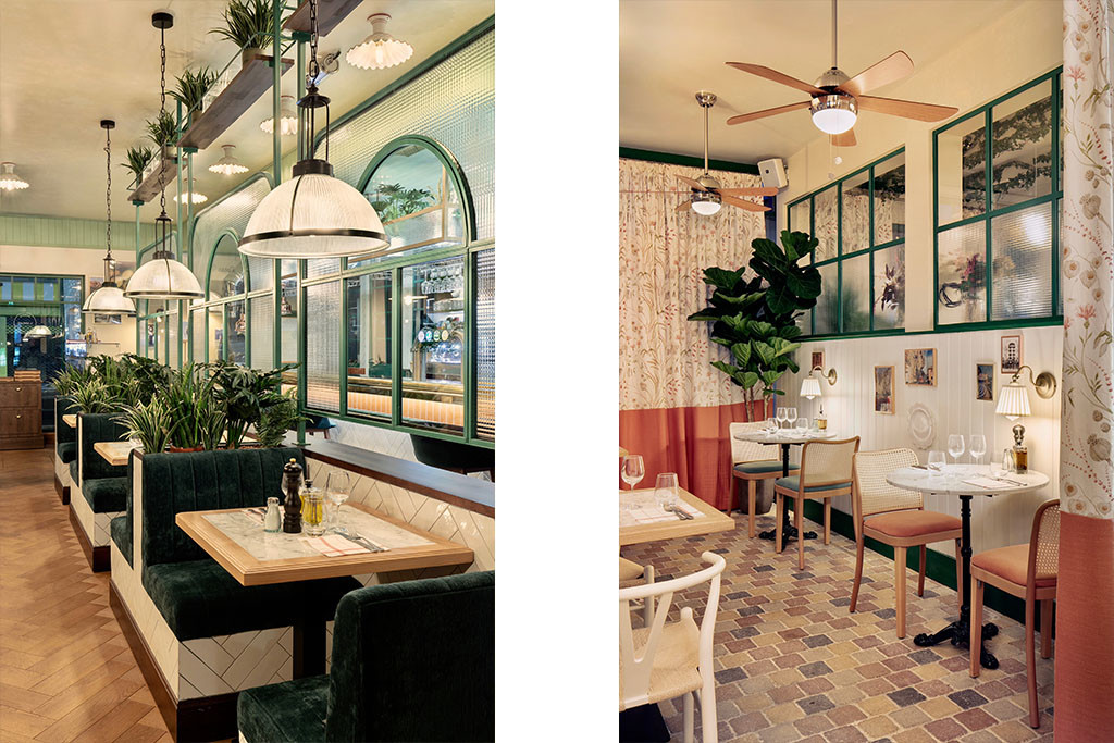 8 Baldini - Il Mercato Paris Architecture interieur